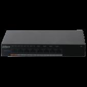 Неуправляемый Fast Ethernet PoE-коммутатор Dahua DH-PFS3008-8ET-60