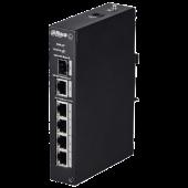 Уличный неуправляемый 4-портовый Fast Ethernet PoE-коммутатор Dahua DH-PFS3106-4P-60