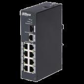 Уличный неуправляемый 8-портовый Fast Ethernet PoE-коммутатор Dahua DH-PFS3110-8P-96